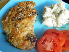 Dijon Crusted Pork Chops - Dump and Go Dinner
