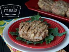 Juicy Apple Turkey Burgers - Dump and Go Dinner