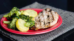 Italian Grilled Chicken Breasts - Dump and Go Dinner