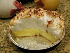 Coconut Cream Microwave Pie