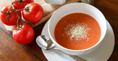 Slow Cooker Tomato Soup - Dump and Go Dinner