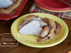 Gluten Free Dairy Free Honey Apple Pork Loin - Dump and Go Dinner