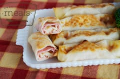 Ham and Cheese Egg Rolls - Lunch Version