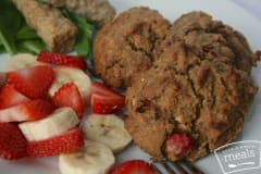 Paleo Strawberry Banana Breakfast Cookies