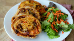 Pizza Spirals Whole Foods Makeover - Lunch Version
