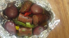 Classic Foil Packets - Camping - Ready to Eat Dinner