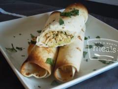 Chicken and Cilantro Taquitos - Lunch Version