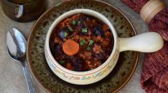 Instant Pot Cherry Pork Chili