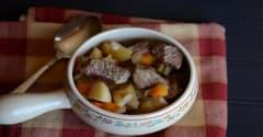 Instant Pot Apple Cider Beef Stew-Lunch Version