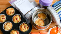 Corn Dog Muffins - Lunch Version