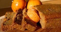 Tangerine Ricotta Pound Cake