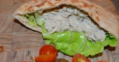 Slow Cooker Chicken Gyro - Lunch