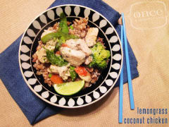 Better Than the Freezer Aisle: Copycat Kashi Lemongrass Coconut Chicken - Dump and Go Dinner