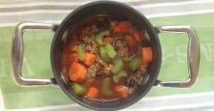 Hearty Paleo Vegetable Soup- Lunch Version