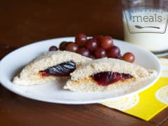 Homemade Nut-Free Uncrustables - Lunch Version