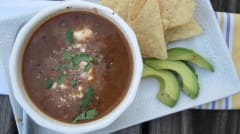 Instant Pot Simple Black Bean Soup - Lunch Version