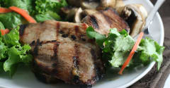 Paleo Ginger Pork Tenderloin - Dump and Go Dinner