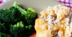 Chicken and Broccoli Bake - Dump and Go Dinner