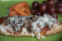 Mini French Bread Pizzas - Lunch Version