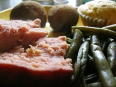 Slow Cooker Ham and Green Beans - Lunch