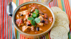 Chicken Taco Soup - Dinner Easy Assembly Version
