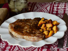 Slow Cooker Honey Pork Chops - Dump and Go Dinner