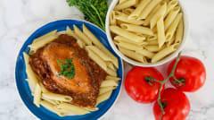 Instant Pot Creamy Bruschetta Chicken - Ready to Eat Dinner