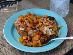 Chicken Thighs and Butternut Squash - Dump and Go Dinner