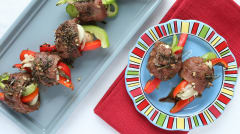 Balsamic Steak Roll-Ups - Dump and Go Dinner