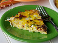 Breakfast Hashbrown Quiche