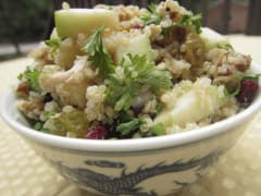 Fall Flavors Quinoa Salad - Lunch Version