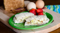 Bacon and Egg Uncrustables - Camping Version