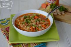 White Bean Buffalo Soup - Lunch Version