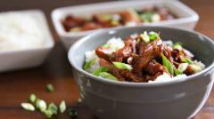 Instant Pot Honey Bourbon Chicken - Paleo - Lunch