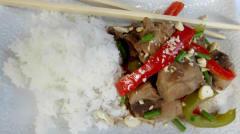 Slow Cooker Cashew Pork - Dump and Go Dinner
