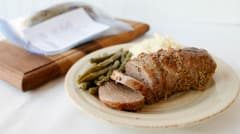 Rosemary Balsamic Pork Tenderloin - Dump and Go Dinner