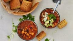 Fall Vegetarian Mini Freezer Meal Plan Vol. 4