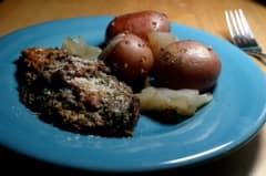 Slow Cooker Vegan Pesto Chicken - Dump and Go Dinner