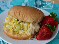 Baked Chicken Burgers - Lunch Version