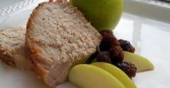 Instant Pot Apple Cherry Pork Loin Paleo - Ready to Eat Dinner