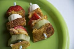 French Toast Stick Kebabs
