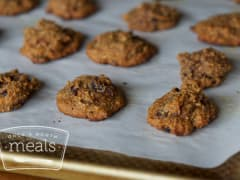 Paleo Pumpkin Cranberry Breakfast Cookies