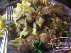 World Famous Beef Stroganoff - Lunch