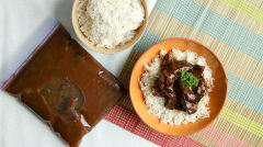 Slow Cooker Mongolian Beef - Paleo Version - Lunch