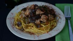 Instant Pot Pork Paprikash - Lunch