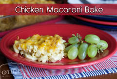 Chicken Macaroni Bake