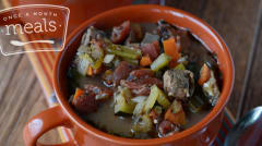 Instant Pot Italian Beef Stew - Dump and Go Dinner