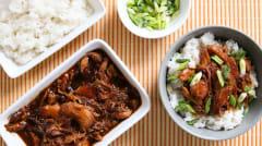 Instant Pot Honey Bourbon Chicken - Gluten Free Dairy Free - Lunch