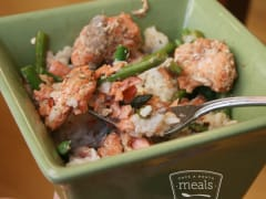 Asparagus and Salmon Bowl - Lunch Version