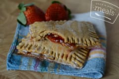 Gluten Free Dairy Free Homemade Strawberry Pop Tarts